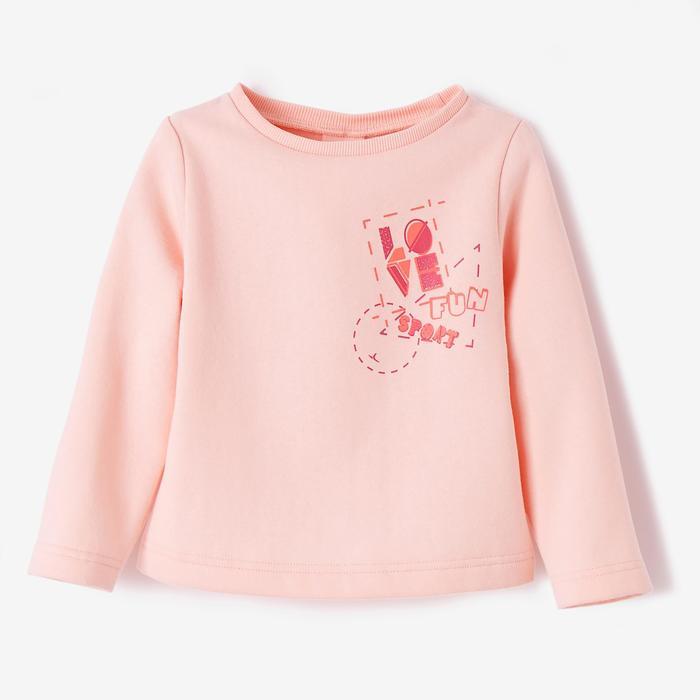 Sweater 100 kleutergym roze