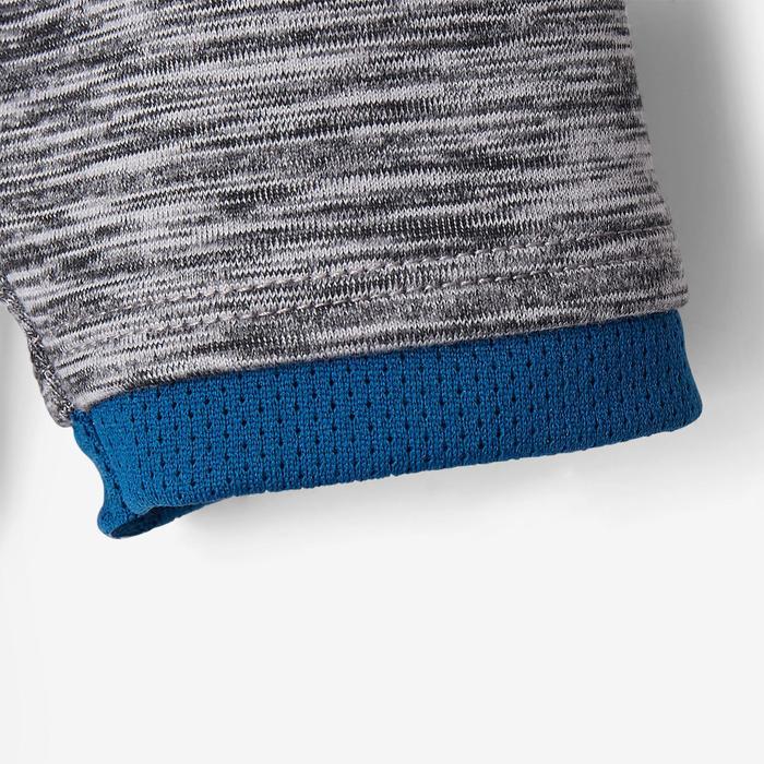 Kapuzenjacke S500 Babyturnen dunkelgrau/blau