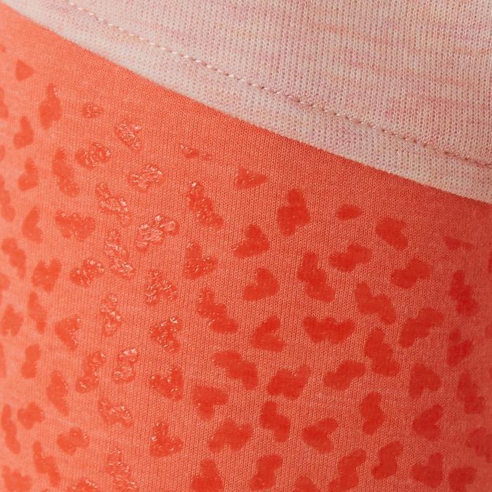 Broek 500 kleutergym roze/oranje