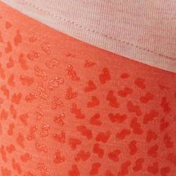 Pantalon baby gym 500 Rose/Orangé