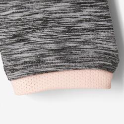 Kapuzenjacke S500 Babyturnen grau/rosa