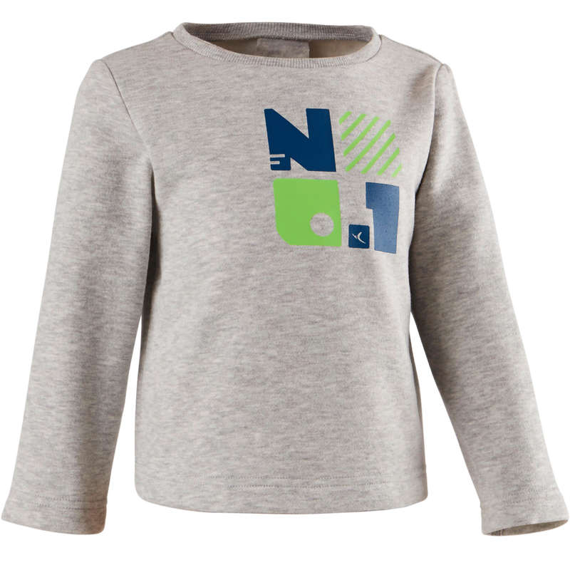 BABY GYM APPAREL Baby and Toddlers - 100 Sweatshirt DOMYOS - Kids