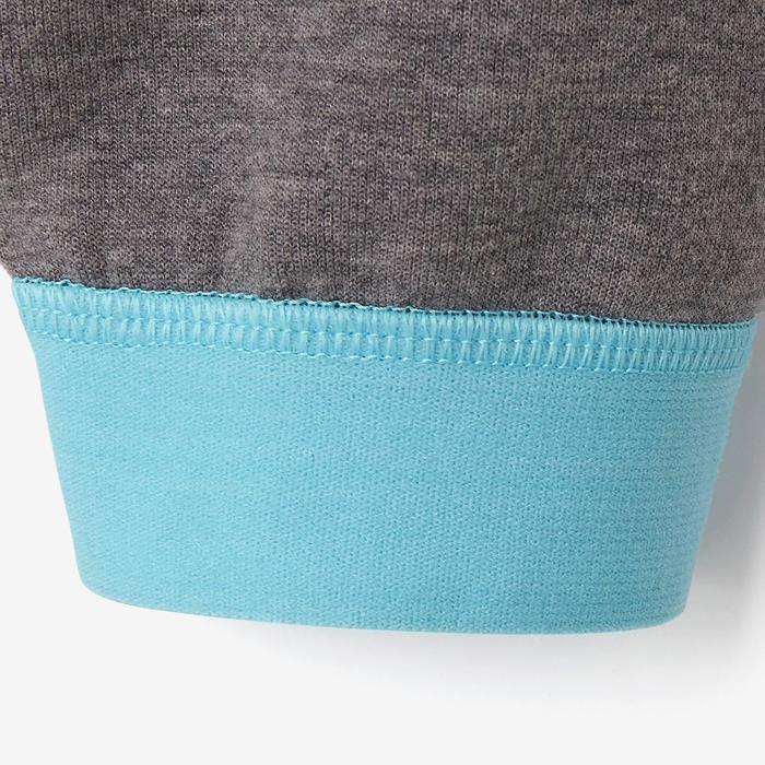 Spacer嬰幼兒健身長褲500 - 淺灰色/粉紅色