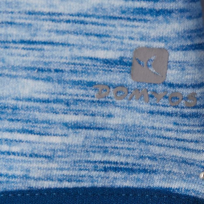 Kapuzenjacke 500 Babyturnen blau