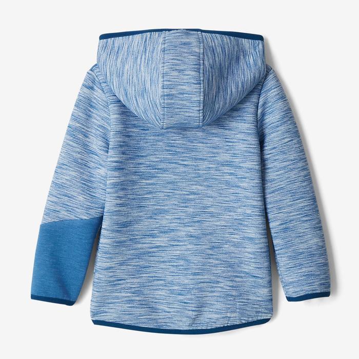 Veste spacer capuche 500 Baby Gym bleu - 1502889