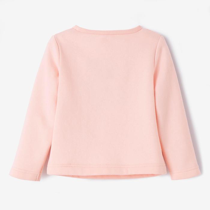 Sweatshirt 100 Babyturnen rosa
