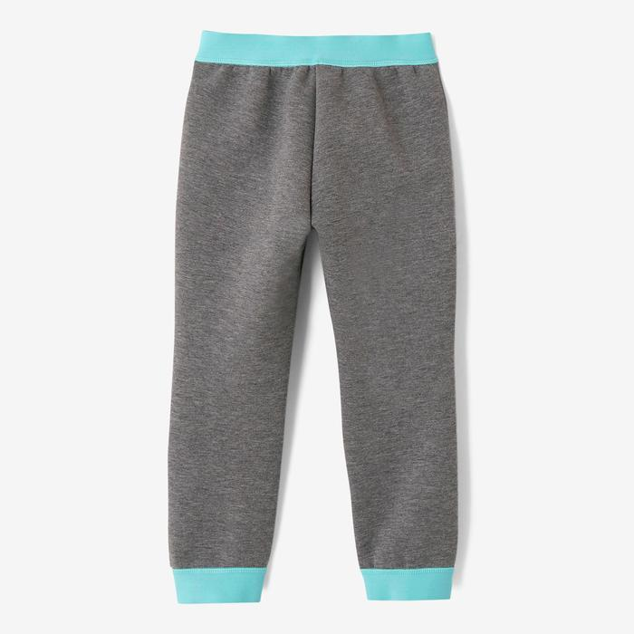 500 Spacer Baby Gym Bottoms - Light Grey/Blue
