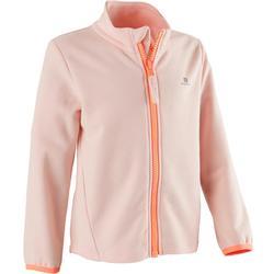 Vest 100 voor kleutergym roze