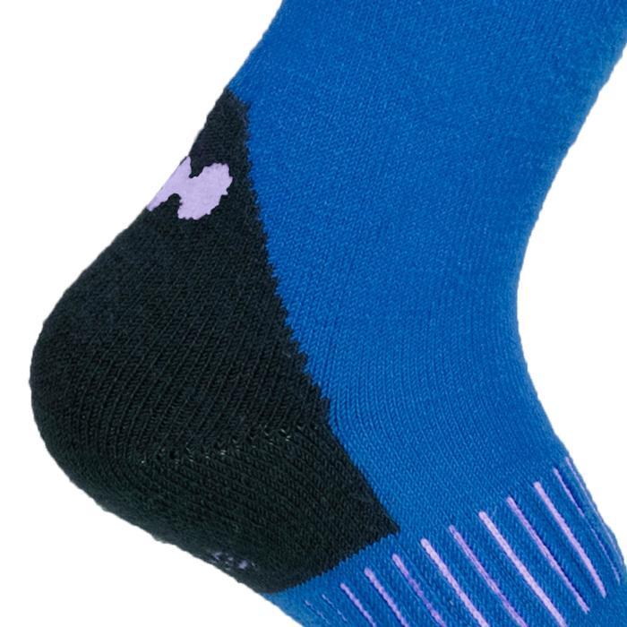 Calcetines Térmicos Esquí y Nieve 100 Niños Azul