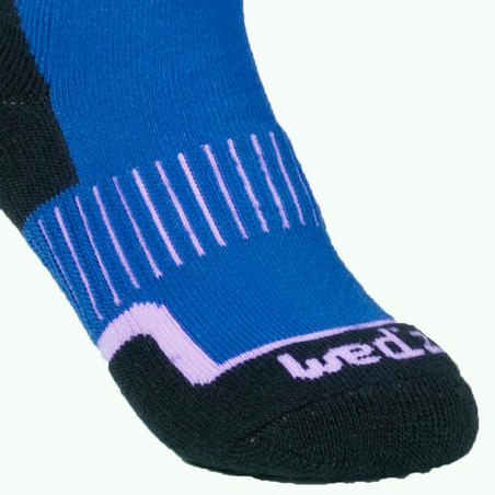 100 Children's Ski Socks - Blue