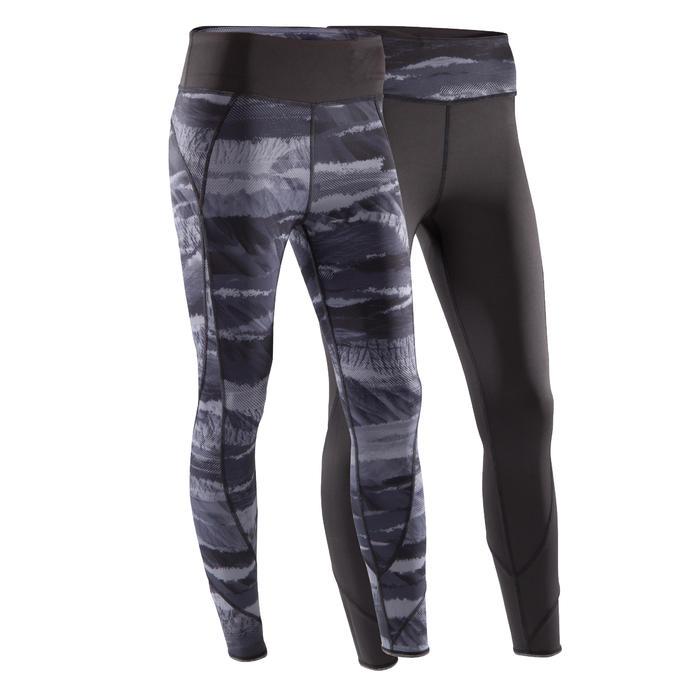 Legging réversible YOGA+ 920 femme noir / blanc print - 1502979
