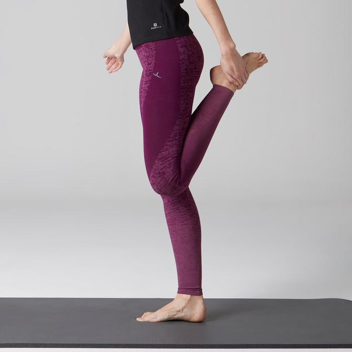 Legging FIT+ 500 slim Gym Stretching femme AOP - 1502988