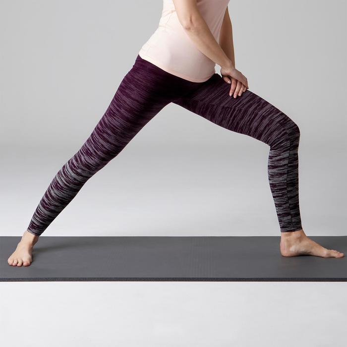 Legging FIT+ 500 slim Gym Stretching femme AOP - 1502991