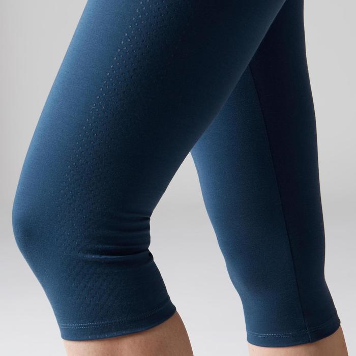 Corsaire 900 slim Gym Stretching & Pilates femme bleu foncé - 1502998