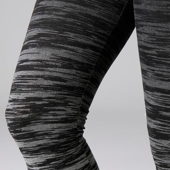 Legging FIT+ 500 slim Gym Stretching femme AOP - 1503030