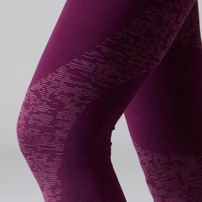 Legging FIT+ 500 slim Gym Stretching femme AOP - 1503033