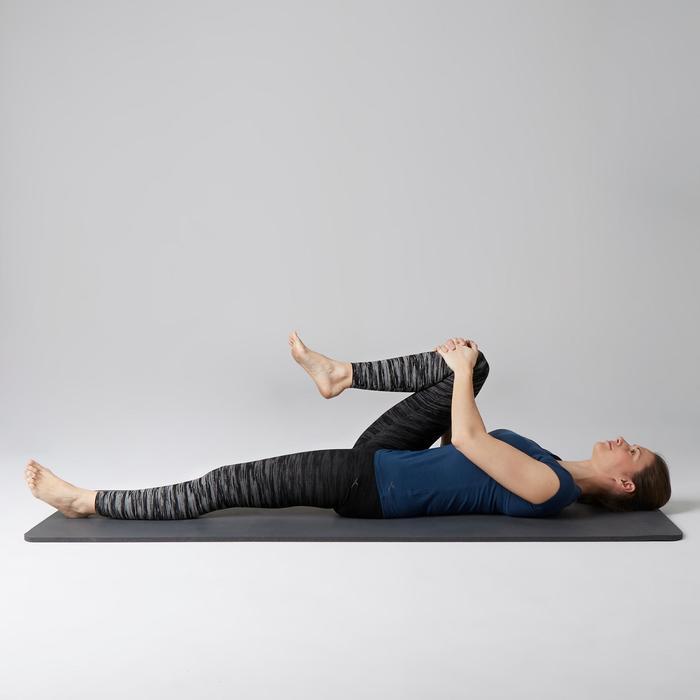 Legging FIT+ 500 slim Gym Stretching femme AOP - 1503039