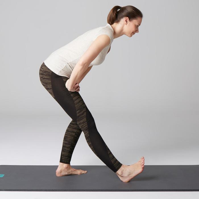 Legging FIT+ 500 slim Gym Stretching femme AOP - 1503043