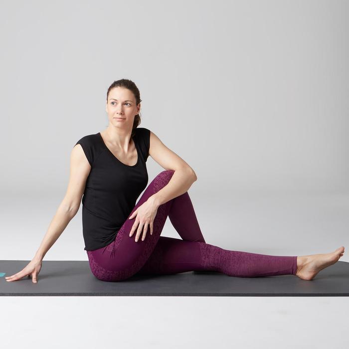 Legging FIT+ 500 slim Gym Stretching femme AOP - 1503052