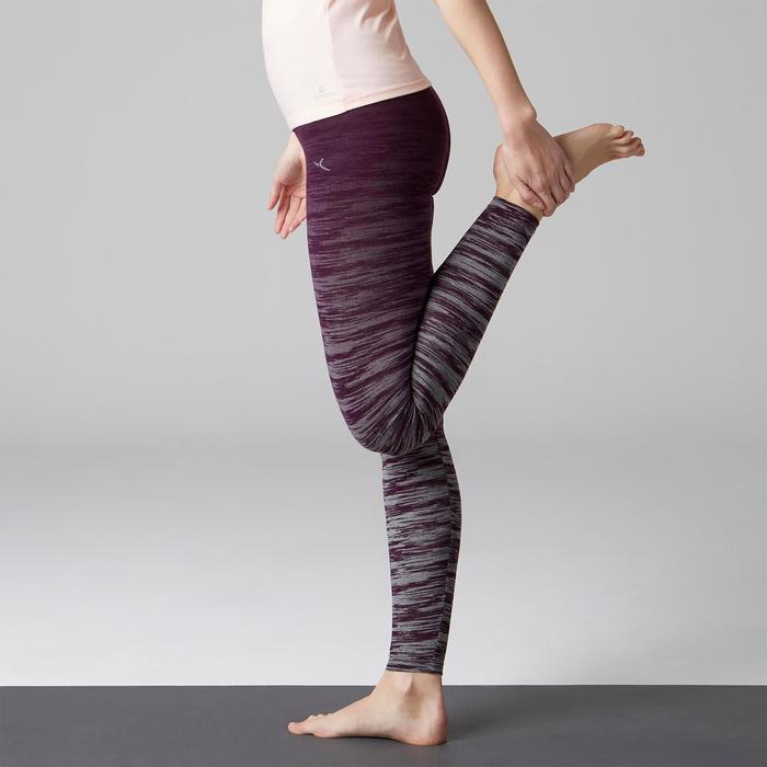 Legging FIT+ 500 slim Gym Stretching femme AOP - 1503058