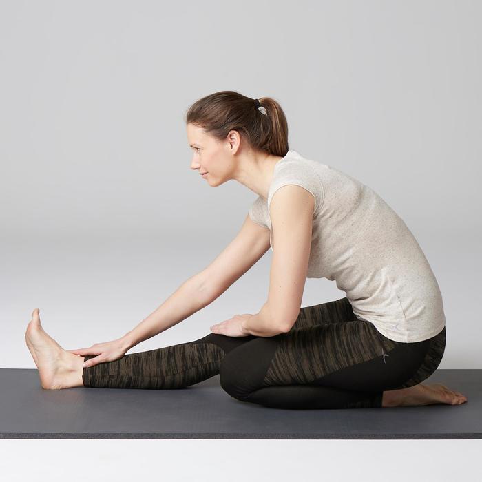 Legging FIT+ 500 slim Gym Stretching femme AOP - 1503061