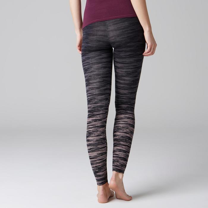 Legging FIT+ 500 slim Gym Stretching femme AOP - 1503082