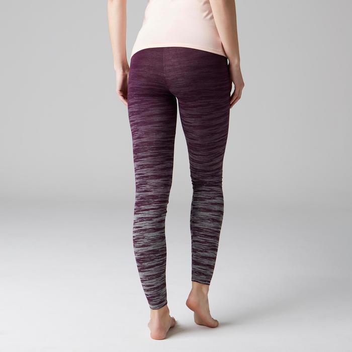 Legging FIT+ 500 slim Gym Stretching femme AOP - 1503083