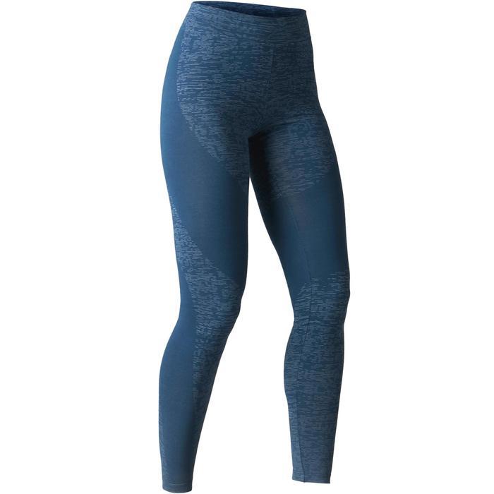 Legging FIT+ 500 slim Gym Stretching femme AOP - 1503106