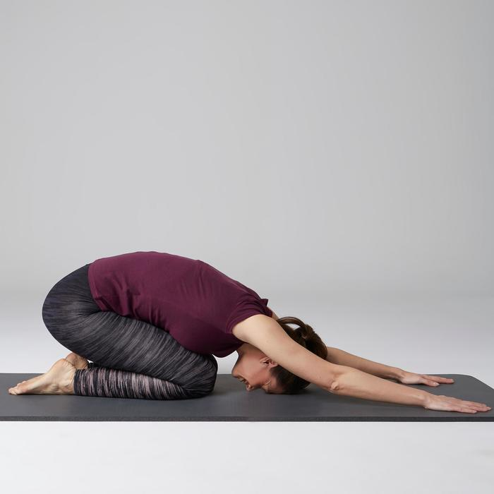 Legging FIT+ 500 slim Gym Stretching femme AOP - 1503110