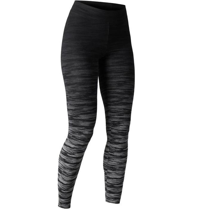 Legging FIT+ 500 slim Gym Stretching femme AOP - 1503132