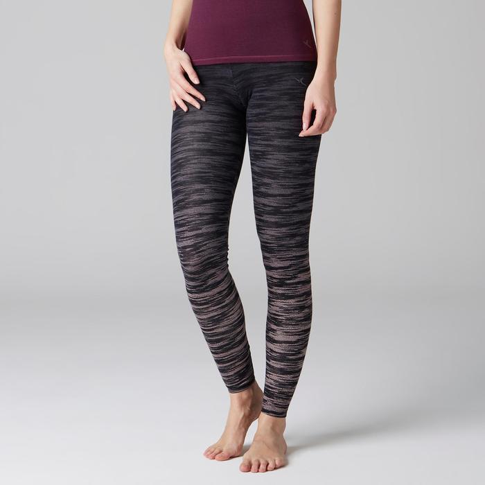 Legging FIT+ 500 slim Gym Stretching femme AOP - 1503134