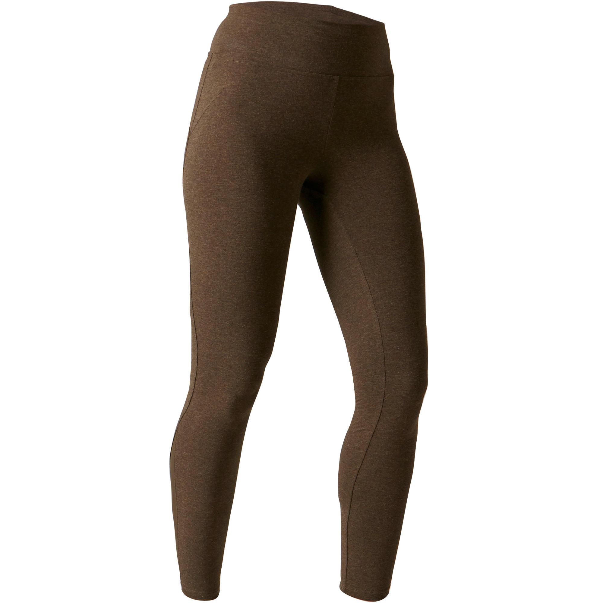 Legging 520 slim Gym étirements femme kaki