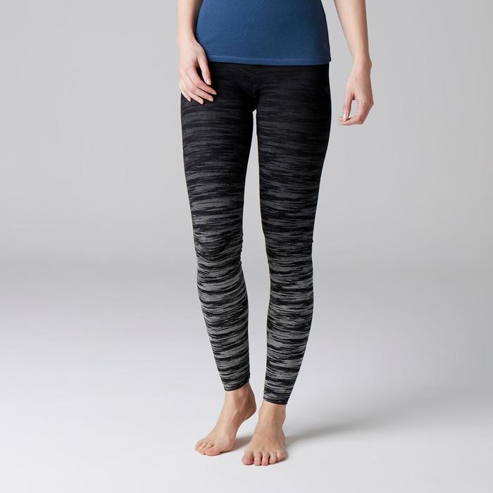 Legging FIT+ 500 slim Gym Stretching femme AOP - 1503159