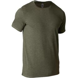 500 Regular-Fit Stretching T-Shirt - Khaki AOP