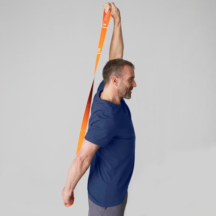 T-Shirt 520 regular col rond Gym & Pilates AOP homme - 1503365