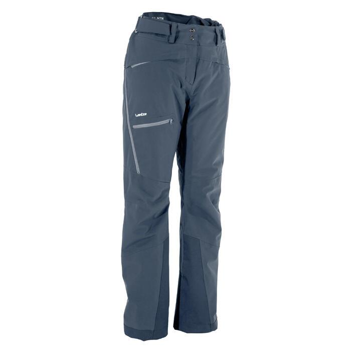 Pantalón de esquí All Mountain mujer AM900 azul
