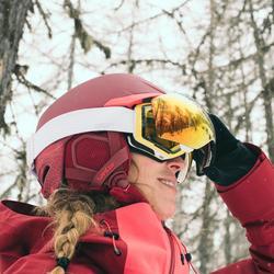 MASQUE DE SKI ET DE SNOWBOARD ENFANT ET ADULTE G 520 I BLANC