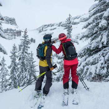 Pantalon de ski Freeride et free randonnée homme FR 900 gris