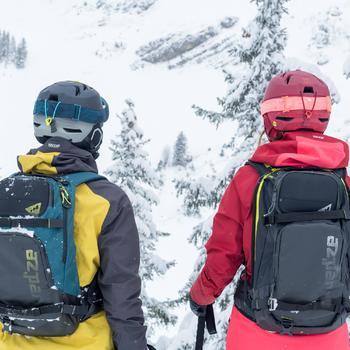 Sac à dos de ski de randonnée, RVS FR 500, pétrole - 1503424