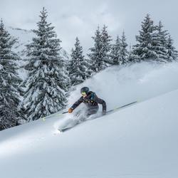 Pantalón de esquí fuera de pista y free travesía hombre PA 900 gris
