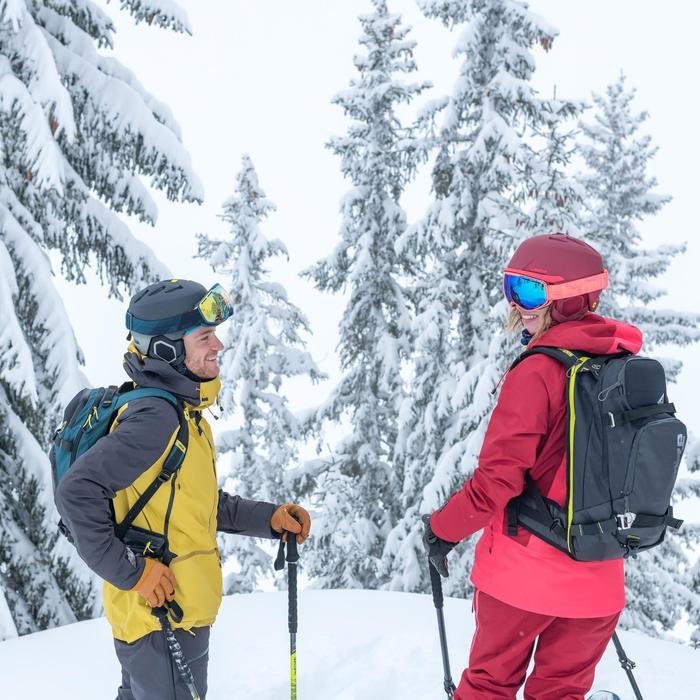 Skirugzak voor freeride volwassenen Reverse Defense 700 zwart