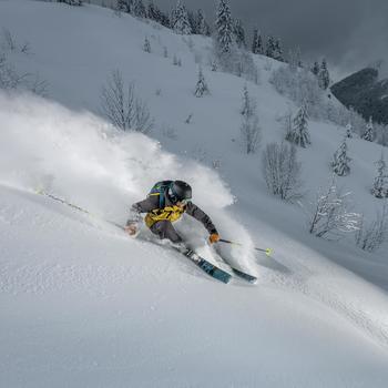 Skibroek voor heren freeride/free touring FR900 grijs