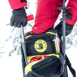 Mochila de esquí Freeride adulto reverse defense 700 negro