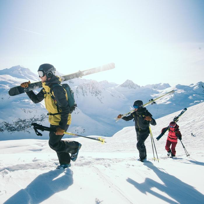 Botas de esquí Freeride travesía adulto FIT 900 azul
