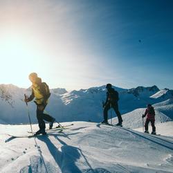 Skischoenen voor freeride en toerskiën heren SKB FR900 LT flex 100 blauw