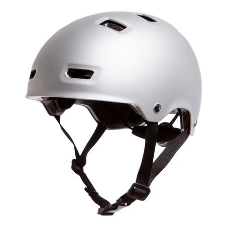 MF500 Inline Skating Skateboarding Scootering Helmet - Grey