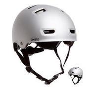 Siva čelada MF500 za rolanje, rolkanje, vožnjo s skirojem ali kolesom