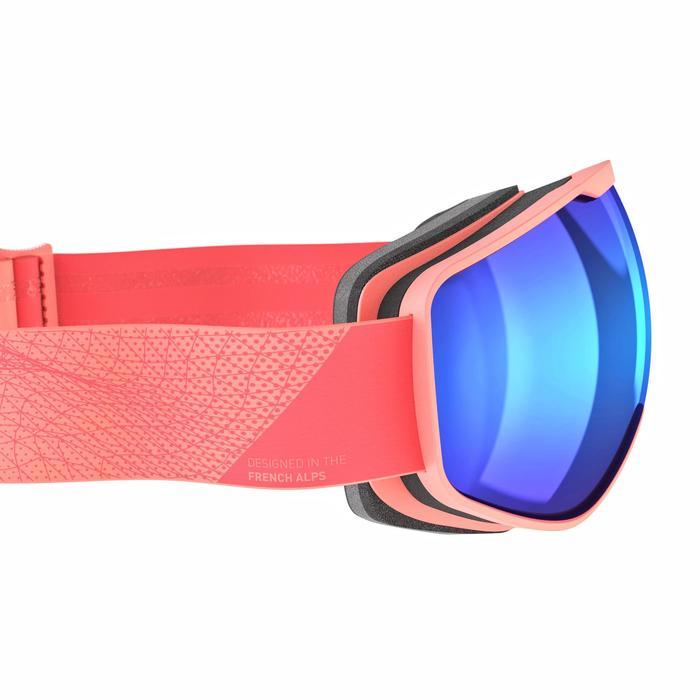 Skibrille / Snowboardbrille G 540 S3 Damen/Mädchen Schönwetter rosa