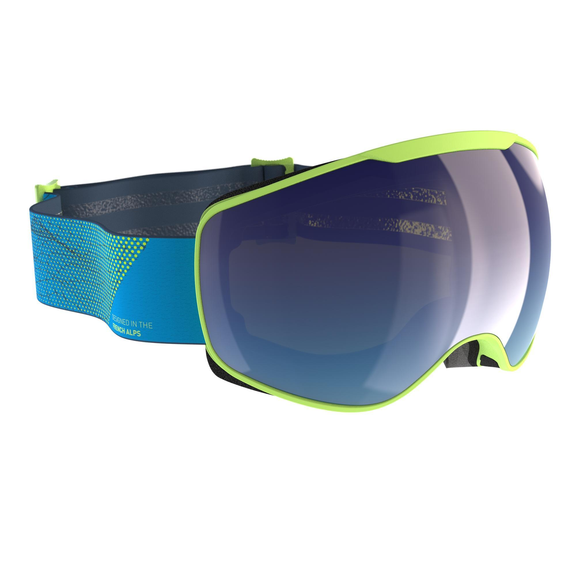 1571a5d17d G 540 Adult and Junior Fine Weather Ski and Snowboard Goggles - Green