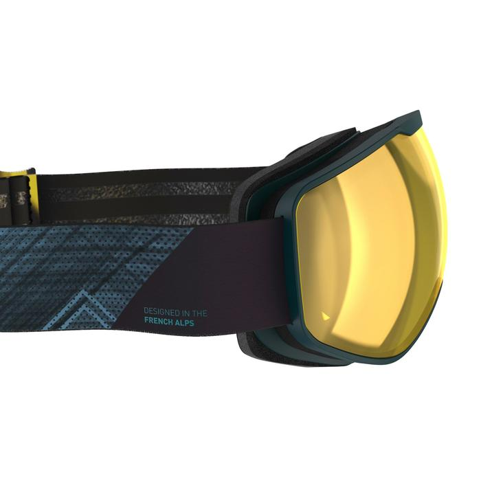 Skibril en snowboardbril voor kinderen en volwassenen G 540 slecht weer blauw
